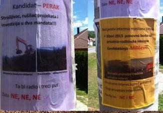 Prljava kampanja: Kutjevački rat plakatima