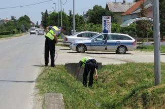 Fiatom udario u izlog, lančani sudar u Brestovcu