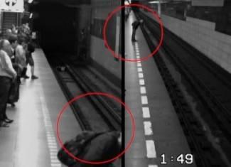 Ženu pregazio vlak, ona se digla kao da ništa nije bilo (video)