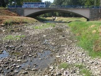 Rekordno nizak vodostaj: Orljava mjestimično već presušila