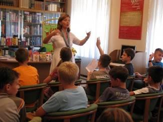 Požeški mališani sa Sanjom Polak: Čitanje je bogatstvo
