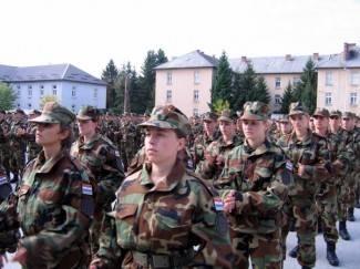 Novi dragovoljni ročnici započeli služenje vojnog roka