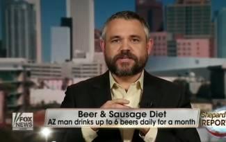 Jede kobasice, pije pivo i gubi kilograme (video)