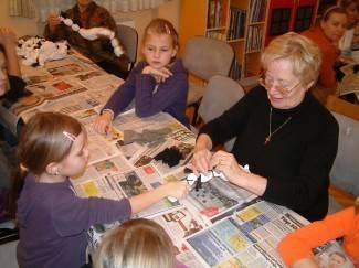 Riječanka predstavila mladim Lipičanima slikarsku tehniku (foto)