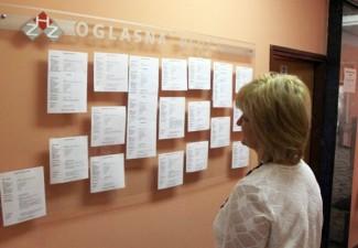 Krajem studenog u HZZ prijavljene 3 523 nezaposlene osobe