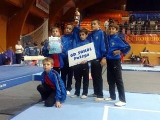 Požeški gimnastičari ekipno drugi u C-programu