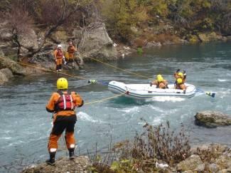 Prošli tečaj spašavanja u brzim vodama na rijeci Zeti