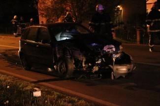 Vozio pijan, prešao na lijevu stranu ceste i izazvao sudar (foto)