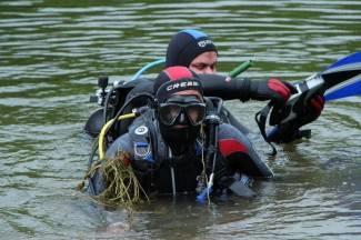 Ronioci čistili Sovsko jezero od otpada (foto)