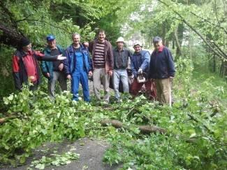 Požeški planinari očistili prilaz do Lapjaka (foto)