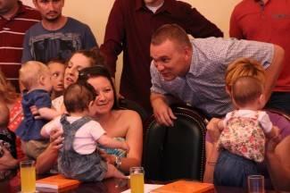 Požega: Bebe kod gradonačelnika