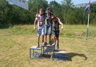 Dea juniorska prvakinja Hrvatske, Mirko viceprvak
