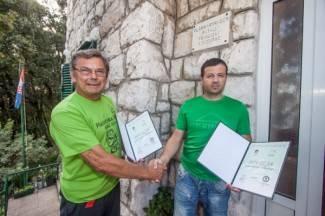 Pakrački planinari obnovili prijateljstvo s kolegama iz Dalmacije