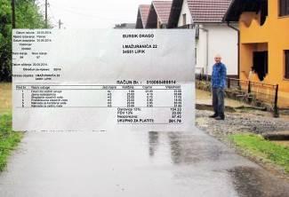 Zbog poplave mu umanjili račun za 17 kn: ¨Oni se nama sprdaju?¨