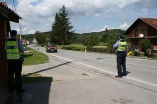 Policija napisala 124 kazne zbog nekorištenja pojasa tijekom vožnje