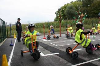 Pleternički mališani dobili poligon za učenje ponašanja u prometu