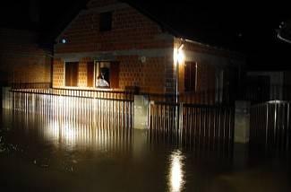 Poplava u Pakracu i Lipiku - noć s 10. na 11. rujna 2014.