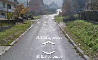 Tekija najavljuje radove u Ul. sv. Josipa: Dio ulice će zatvoriti za promet