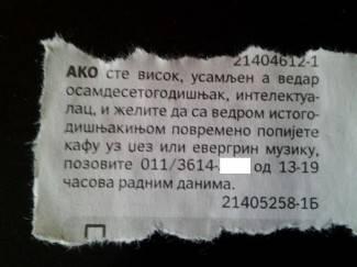 Beograđanka (80) ovim oglasom raznježila korisnike Facebooka
