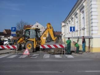 Pakrac: Ulica braće Radić se u četvrtak zatvara za promet