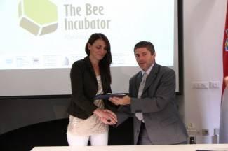 Požega: Predstavljanje projekta The Bee Incubator na VUP-u