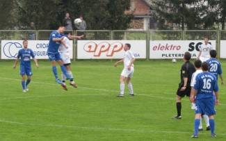 Prva utakmica nogometnog kupa u Velikoj