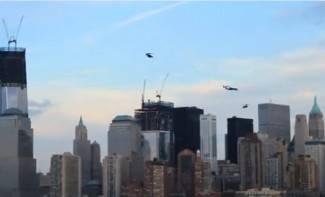 Leteći ljudi napadaju New York (video)