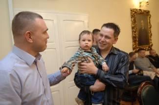 Požega: Bebe na prijemu kod gradonačelnika