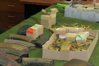 Pronalazak granate i dragovoljna predaja streljiva