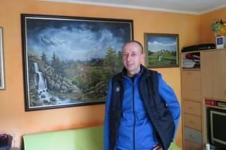 Svestrani umjetnik: Spojio posao na željeznici i ljubav prema slikarstvu (foto)