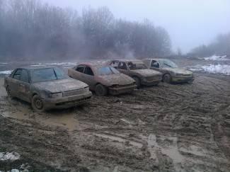 Veličani uživali u blatnoj stazi na Poljanicama