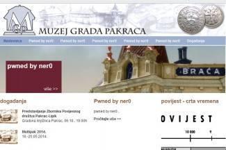 Web pakračkog muzeja hakiran već danima, a nitko nije primijetio