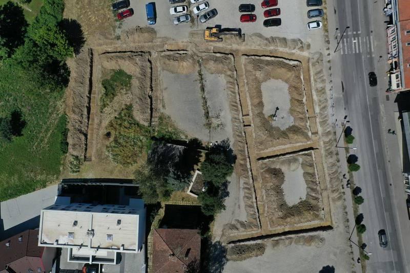 Započeli radovi na izgradnji parkirališta u Ulici Josipa Jurja Strossmayera