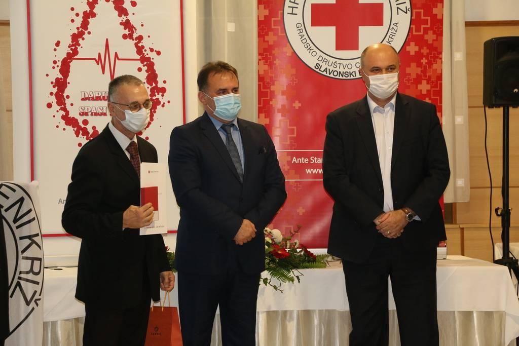 Svečano obilježen Dan dobrovoljnih darivatelja krvi