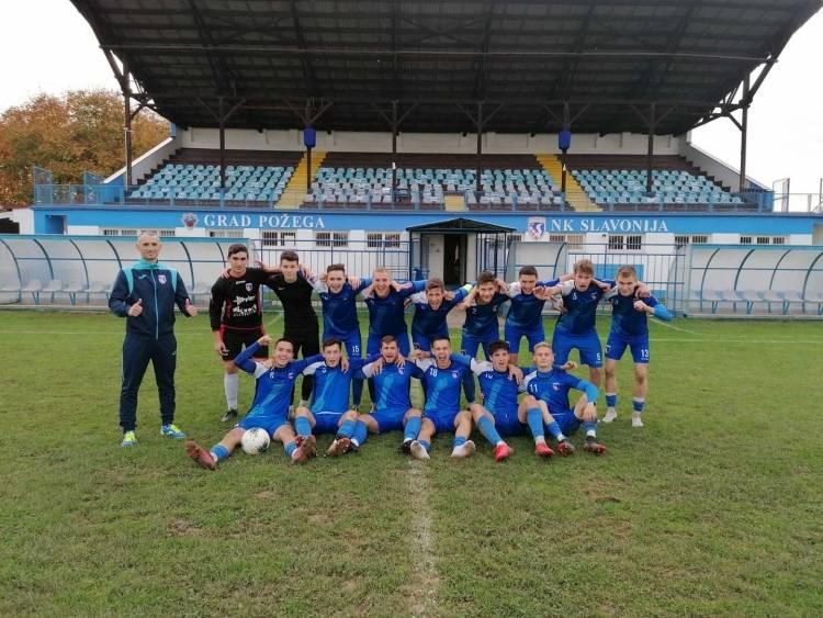 Juniori Slavonije nakon jedanaesteraca pobijedili Slogu (Nova Gradiška) u 1/4 finalu regionalnog kupa