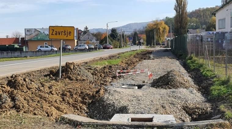 U tijeku je izgradnja pješačke i biciklističke staze na dionici Nurkovac-Završje na radost pješaka i biciklista