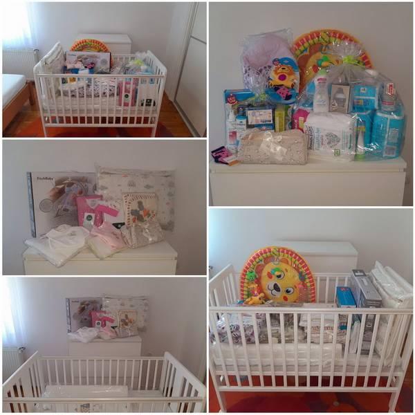 Nastavlja se dijeljenje opreme za novorođenče