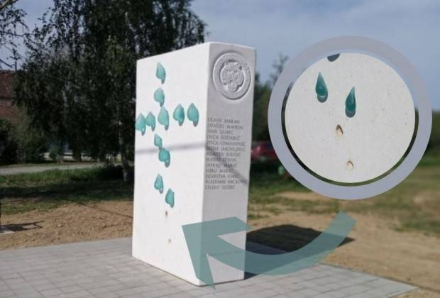 22-godišnji Lipičanin osumnjičen za oskvrnuće spomenika trinaestorici ʺTigrovaʺ