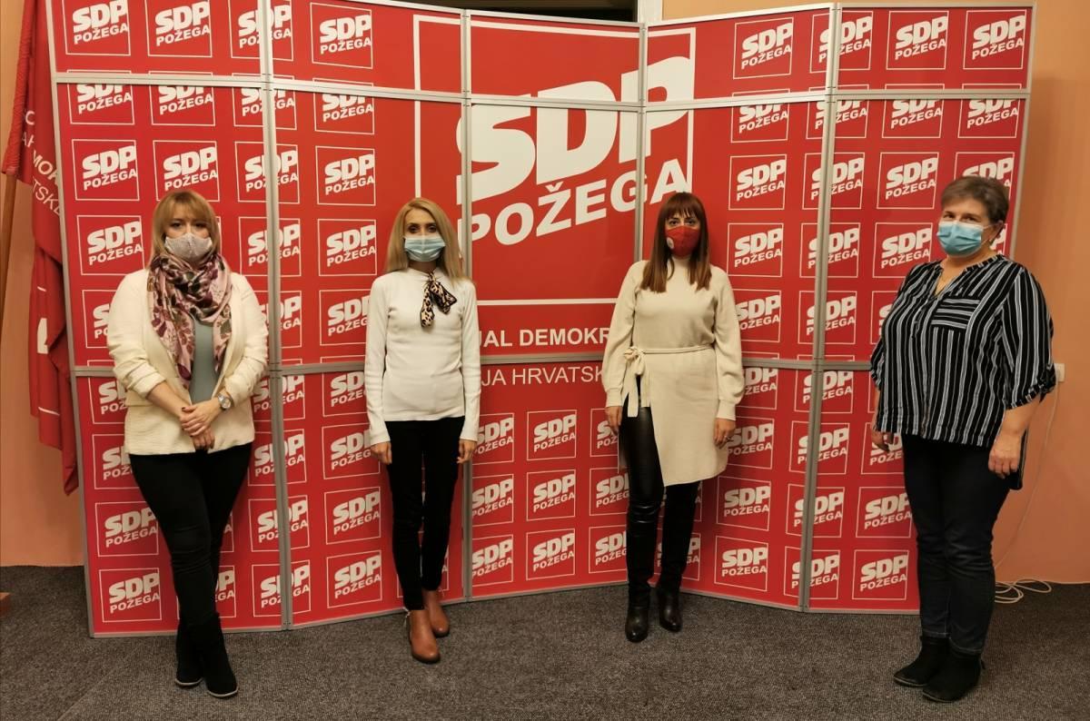 Priopćenje GO SDP-a Požega povodom Međunarodnog dana borbe protiv nasilja nad ženama