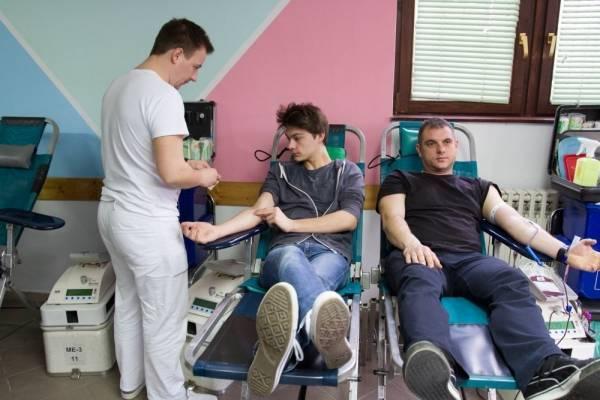 Akcija dobrovoljnog darivanja krvi od 25. do 27. studenog
