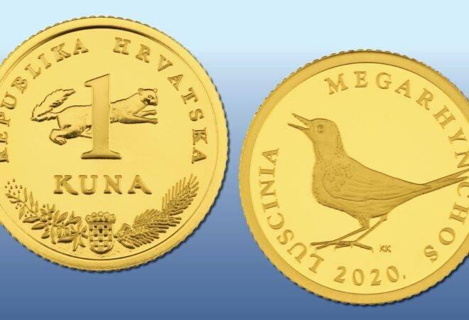 HNB izdao kovanicu 'Zlatna kuna', inicijalna cijena oko 4.568 kn