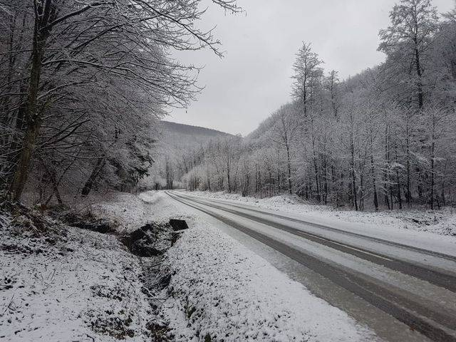 Zimska idila na Krndiji kod Kutjeva