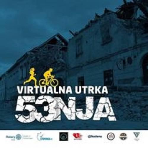 Humanitarna virtualna utrka ʺHodaj, trči, bicikliraj za Petrinjuʺ