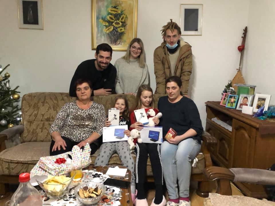 LIJEPA PRIČA: Sibinjska obitelj ugostila obitelj Batinić iz Strašnika kojoj je kuća oštećena u potresu