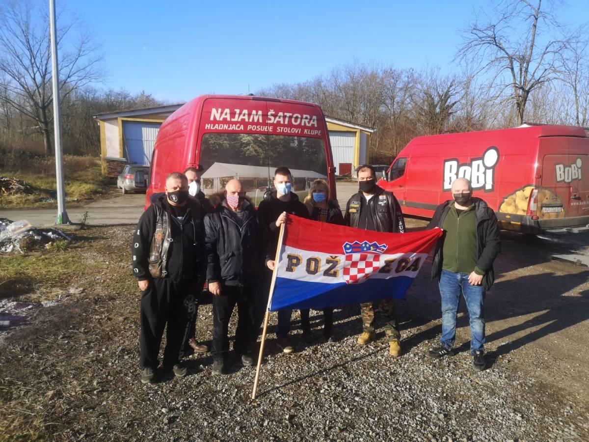 Domovinski pokreta PSŽ i Moto klub Tsunami u zajedničkoj humanitarnoj akciji za Sisačko-moslavačku županiju