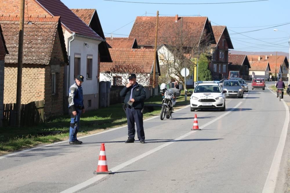 Drama u Požeštini: Nasilnik bombom prijetio ženi i djetetu te policiji
