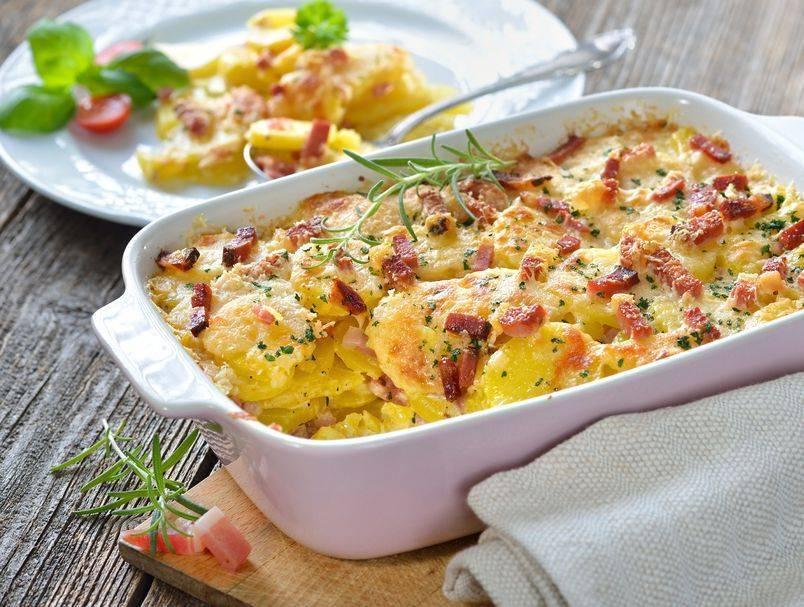 Idealno za zimu: Recept za kremasti krumpir sa slaninom iz pećnice