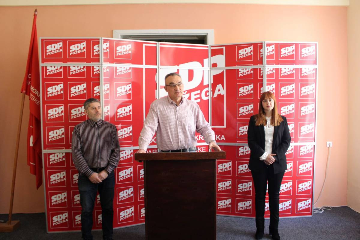 GO SDP-a Požega održao tiskovnu konferenciju: ʺTko je uz požeški HDZ bude mu slatkoʺ