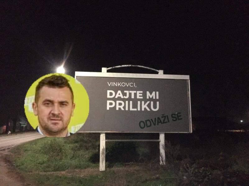 Na par mjesta u Vinkovcima pojavili su se neobični plakati. Utvrdili smo o čemu se radi