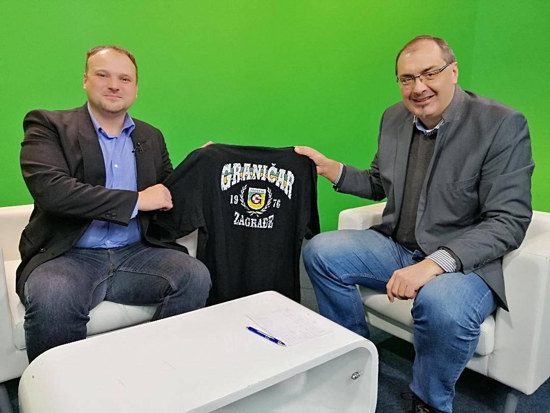 Gostovanje Brune Horvata u emisiji ʺSport plusʺ i osvrt na aktivnosti NK Graničara